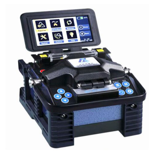 Eloik ALK-88A Fbier Optic fusion Splicer butt fusion with cable box 7 seconds fast welding multilingual splicing machine