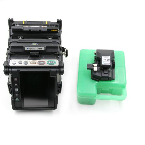 Original fujikura FSM-80S , optical fiber fusion splicer with CT-06 cleaver