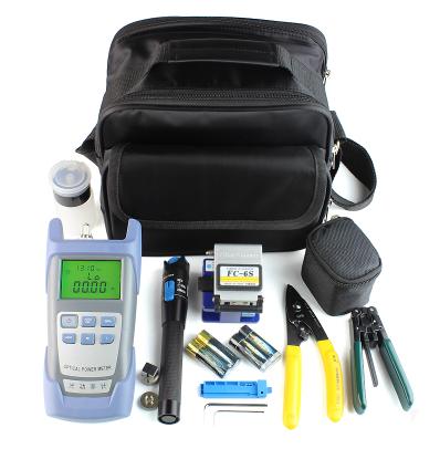 FTTX install kits fiber optic equipment Use Optic Tool Kit