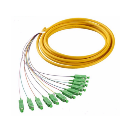 Dual SC 0.9mm simplex sc/apc fiber optic pigtail