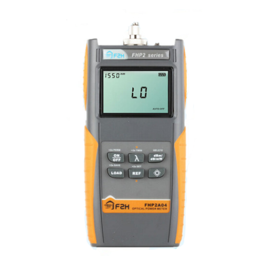 FHP-2A04 fiber optic power meter for laboratory, LANs, WANs and CATV