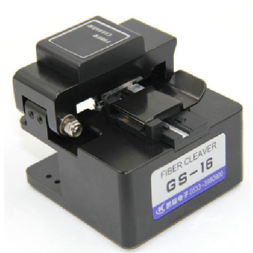 GS16 fiber optic cleaver