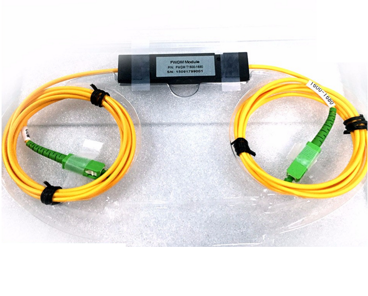 High quality Optical Fiber Splitter Single mode Standard WDM 1310/1550 nm