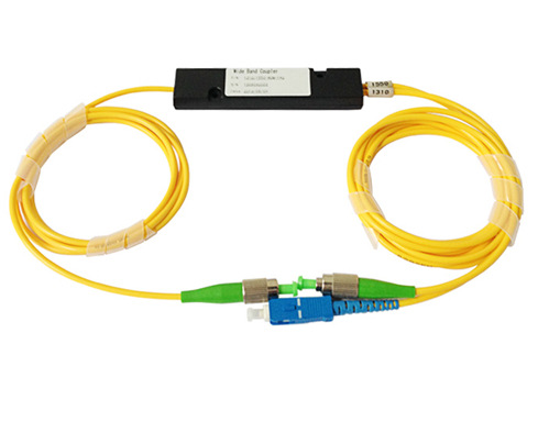 WDM 1310  1550nm  two wavelength fiber splitter sc upc  fc apc