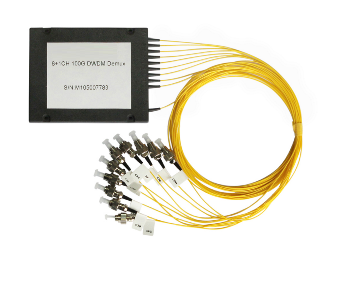 Cwdm coarse wavelength division multiplexer 16 - channel dual core optical fiber