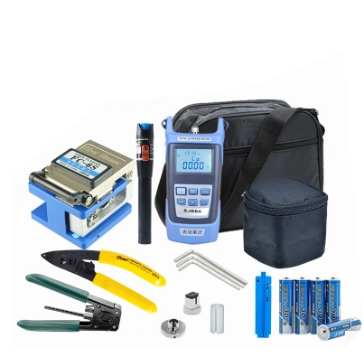 Installation and Maintenance Fiber Optic Tool Kit for FTTH Drop Cable