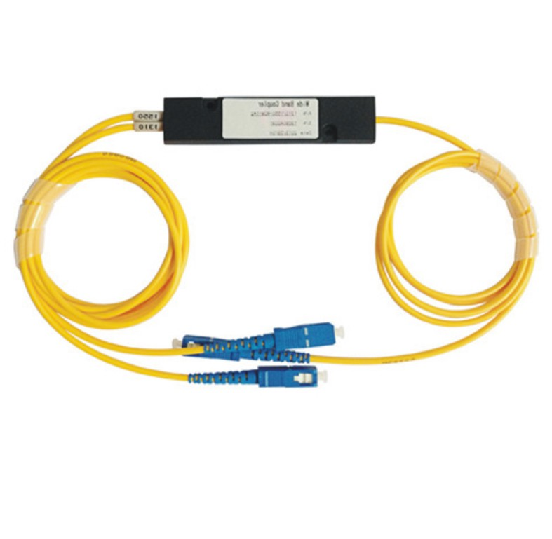 1310/1550nm 2*2 Fused Optic Fiber Wdm with Sc/Upc