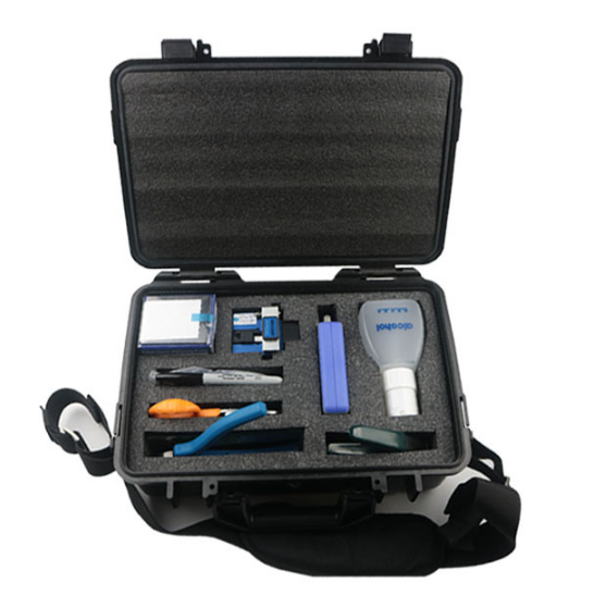 FTTH Outdoor Network Optical Fiber Field-installable Fast Connector Termination Tool Kit