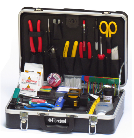 Universal Fiber Optic Fusion Splicing Tool Kit HW-306A