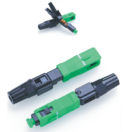 SC upc fast connector 0.9mm drop cable tool