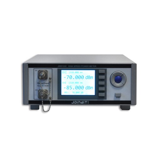 JW3327 A2 desktop single dual channel high speed optical power meter