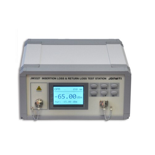 TriBrer Fiber Optic Insertion Return Loss Teste Insertion Loss and Return Loss Test Station JW3327
