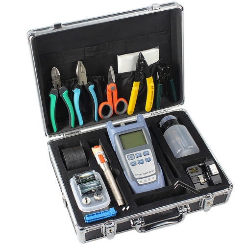 Fiber Optical Electronic Fiber Optic Cleaning Network Tool Kit