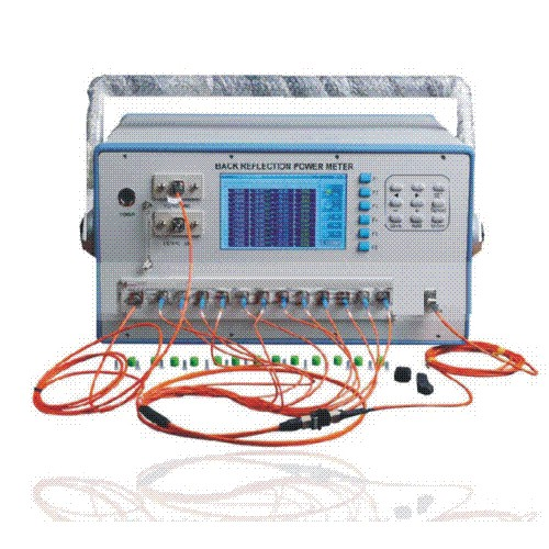 Mpo insertion loss tester for fiber cable